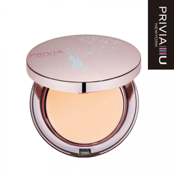"Компактная пудра ""Privia Illusion Powder Pact  No.23 SPF40 PA+"""
