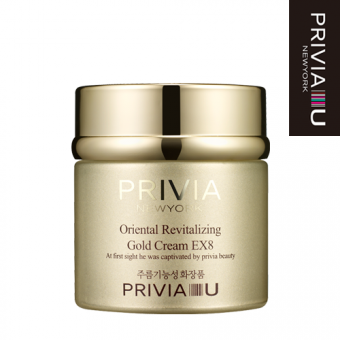 "Крем для лица ""PRIVIA Oriental Revitalizing Gold Cream EX8"" 50 мл"